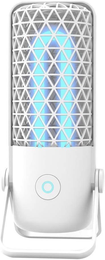White WarmBay Germicidal Light UVC Bulb Sterilizer UV Light Dust Mite Proof Lamp Ultraviolet Germicidal Lamp Refrigerator Disinfection Lights Tabletop Sterilization Light for Home Office Use
