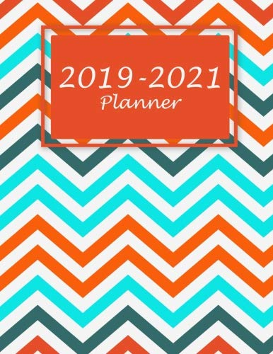 """Price comparison product image 2019-2021 Planner: Beauty Colorful Book, Three Year Monthly Schedule Organizer, Academic 2019-2021 Calendar Book, Large 8.5"""" x 11"""" Appointment Notebook (36 Months Calendar Planner)"""