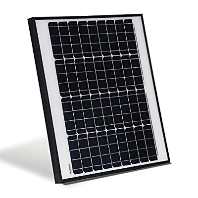 ALEKO SPU50W12V Monocrystalline Modules Solar Panel 50W 12V