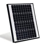 Cheap ALEKO SPU50W12V 50 Watt 12 Volt Monocrystalline Solar Panel for Gate Opener Pool Garden Driveway