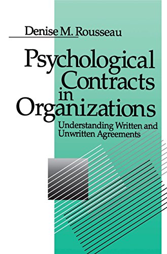 Download Psychological Contracts in Organizations: Understanding Written and Unwritten Agreements Pdf