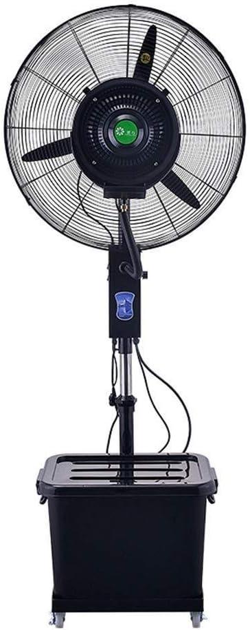 Hogar de ahorro de energía de enfriamiento del ventilador de refrigeración aficionados -Pedestal oscilantes nebulización del aerosol del ventilador grande for el ventilador de escritorio Outdoor Indus