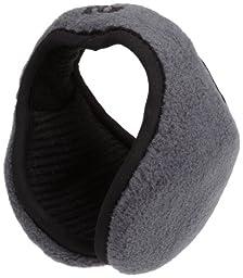180s Tec Fleece Ear Warmer,Gun Metal,One Size