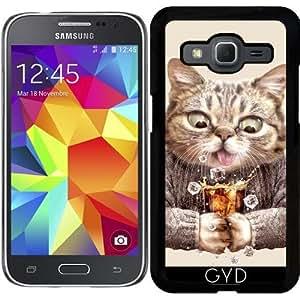 Funda para Samsung Galaxy Core Prime (SM-G360) - Cat & Refresco by Adam Lawless