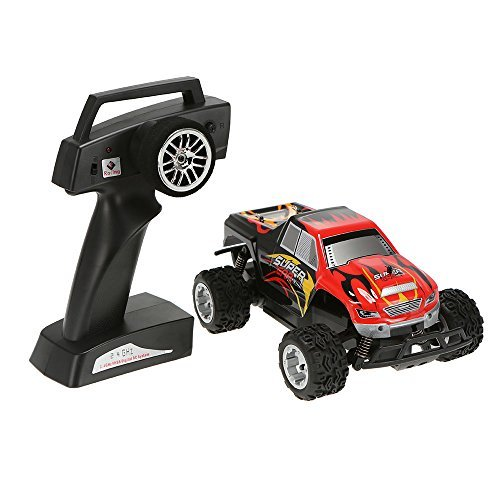 GoolRC WLtoys L343 1/24 2.4G Electric Brushed 2WD RTR RC Monster Truck Reviews