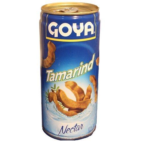 Goya Tamarind Nectar, 9.6 fl oz Tamarindo (2 cans)