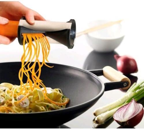 KE/_ AF/_ Chopper Spiralizer Vegetable Fruit Cutter Twister Peeler Kitchen Cooki