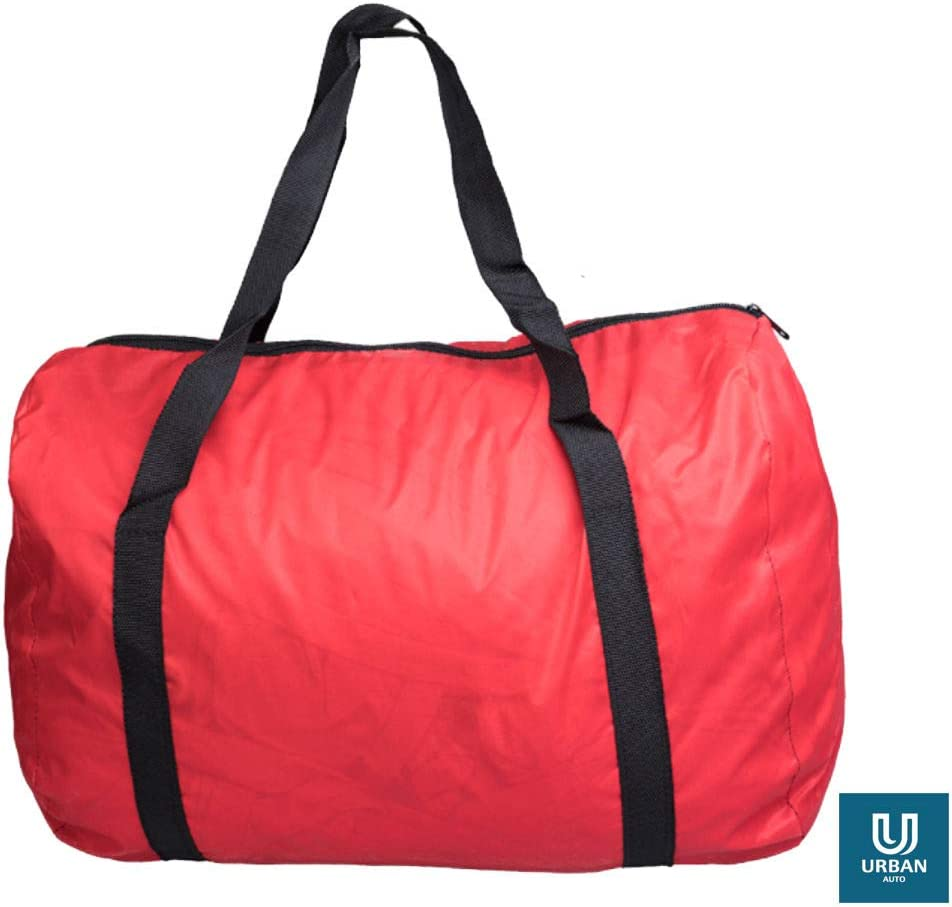 The Urban Company Car Cover For Indoors To Fit Mazda Mx-5 In Red Breathable,Soft Fabric,Showroom