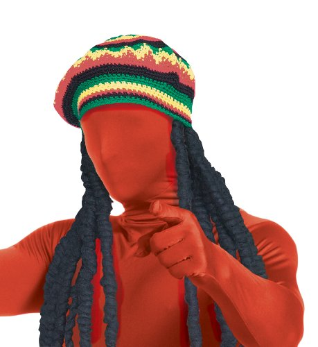 Rubie s Costume 2nd Skin Rasta Dreadlock Wig With Cap 22767a8d405c