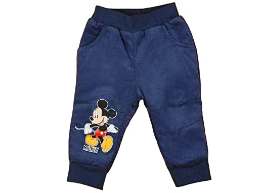 62 Blau Bottoms Mickey Mouse Jeans Hose Jungen Gr