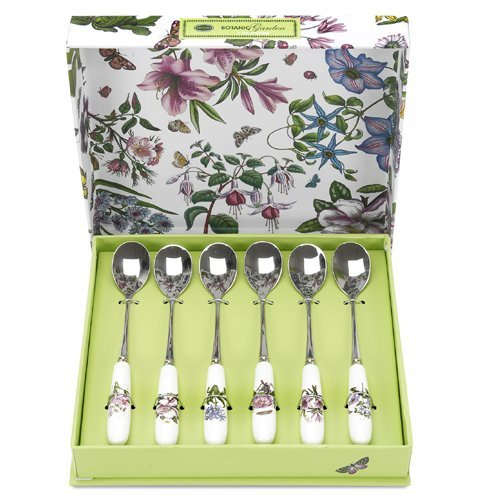 (Portmeirion Botanic Garden Cutlery Tea Spoons - Set of)