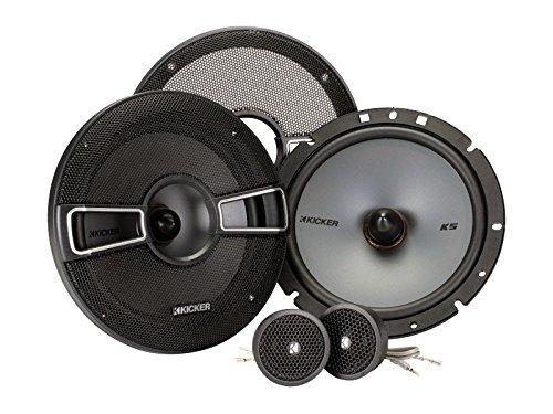 "Kicker 41KSS674 6-3/4"" 2-Way Component Speaker System (Black)"