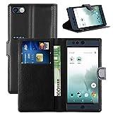 Nextbit Robin case, KuGi ® Nextbit Robin case - High quality ultra-thin MX style PU Cover +TPU Back Wallet stand Case For Nextbit Robin smartphone (Black)