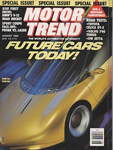 - Motor Trend Magazine, August 1990 (Vol. 42, No 8)