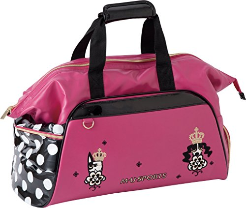 MU Sports Ladies Boston Bag, Pink, 703Q6207 by MU Sports