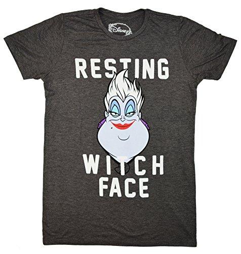 disney-little-mermaid-ursula-resting-witch-face-juniors-boyfriend-t-shirt-xxl-heather-charcoal