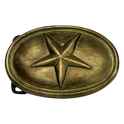 Civil War Belt Buckles - Civil War Belt Buckle Texas Star Brass