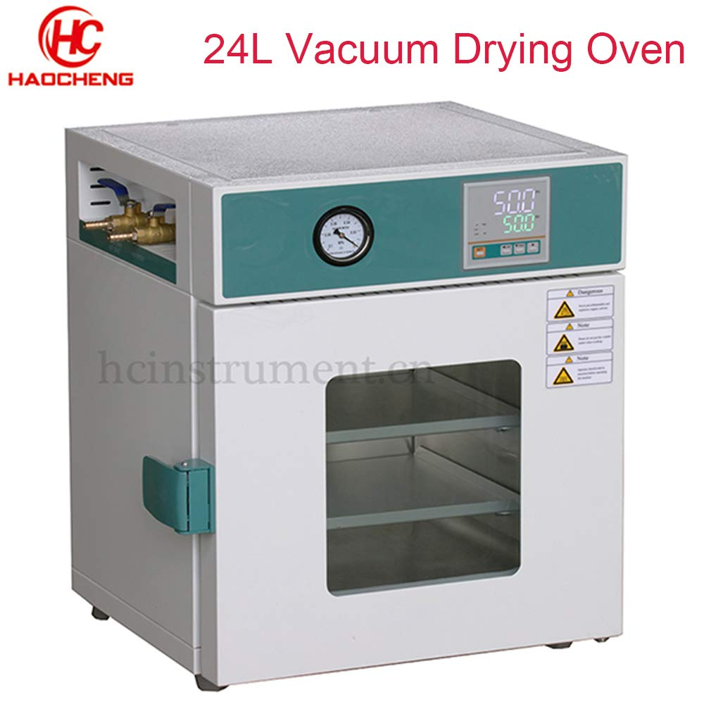 220V Laboratory Extraction Digital Vacuum Drying Oven Cabinet Industrial Drying Oven 24L by haocheng