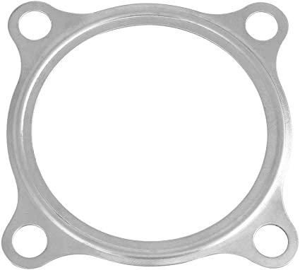 MotoMavens 2.5 Inch 4 Bolt SS304 Turbo Exhaust Downpipe Flange Gasket For GT3582R GT35 T3