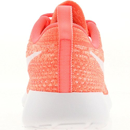 Running NikeRoshe Zapatillas de White Mujer Pink Flyknit qqCZa0