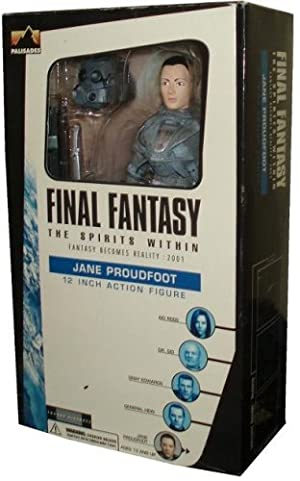 Final Fantasy The Spirit Within 12 Inch Action Figure Fantasy Becomes Reality : 2001 - JANE PROUDFOOT by Final Fantasy
