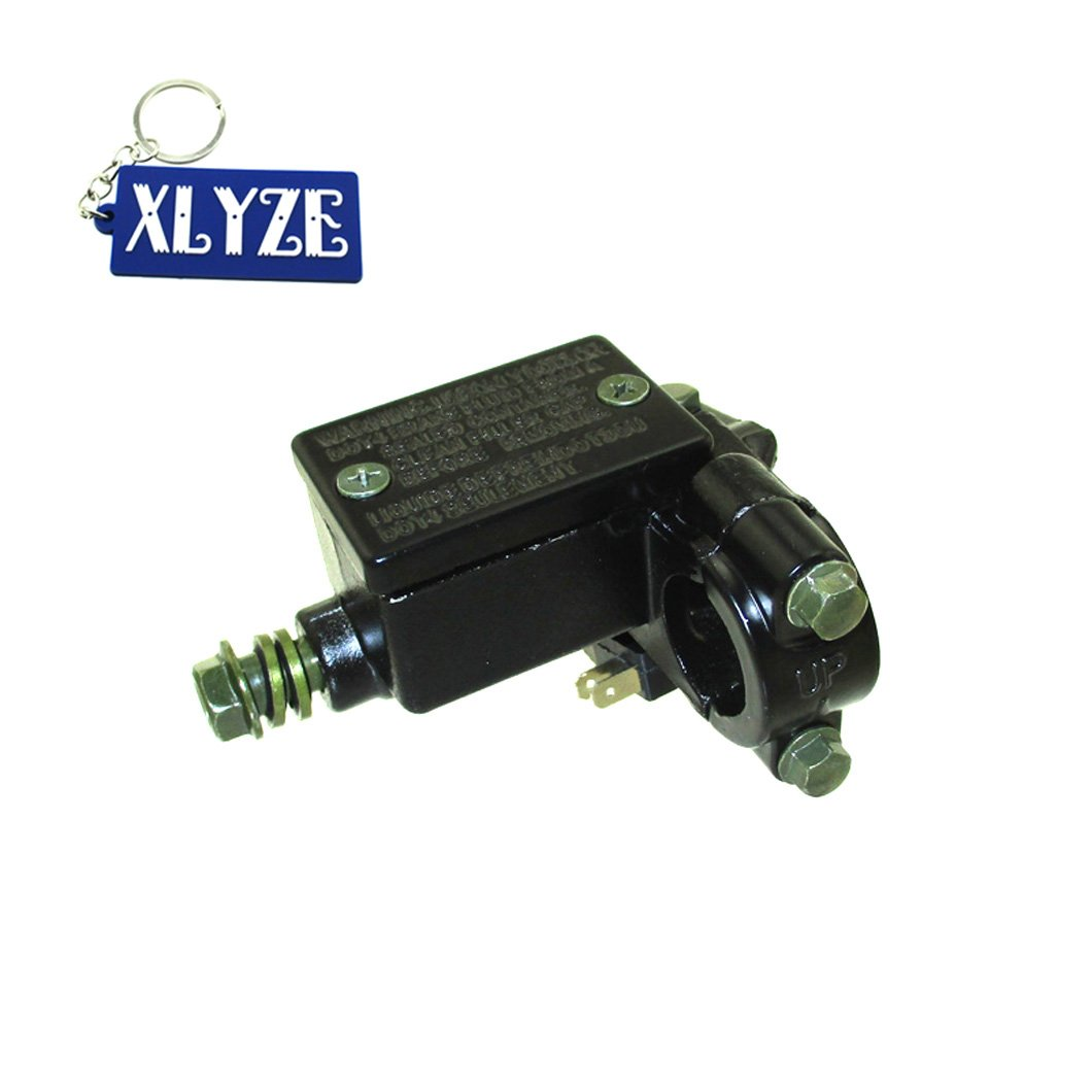 XLYZE 22mm Front Right Hydraulic Brake Master Cylinder for Pit Dirt Bike ATV Quad Motorcycle