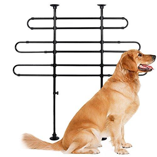 Hundegitter Universal Auto Hundeschutzgitter Tier Trenngitter verstellbar Gepäckgitter, HT2032