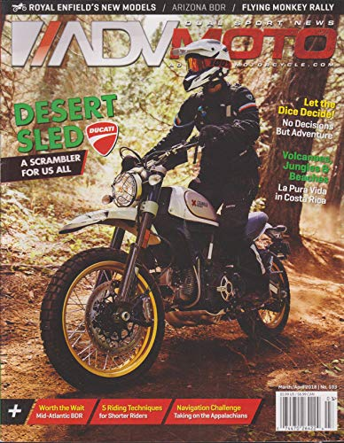Adventure Motorcycle Magazine March/ April 2018