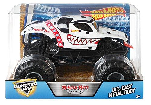 Hot Wheels Monster Jam Brown Monster Mutt Vehicle, 1:24 -
