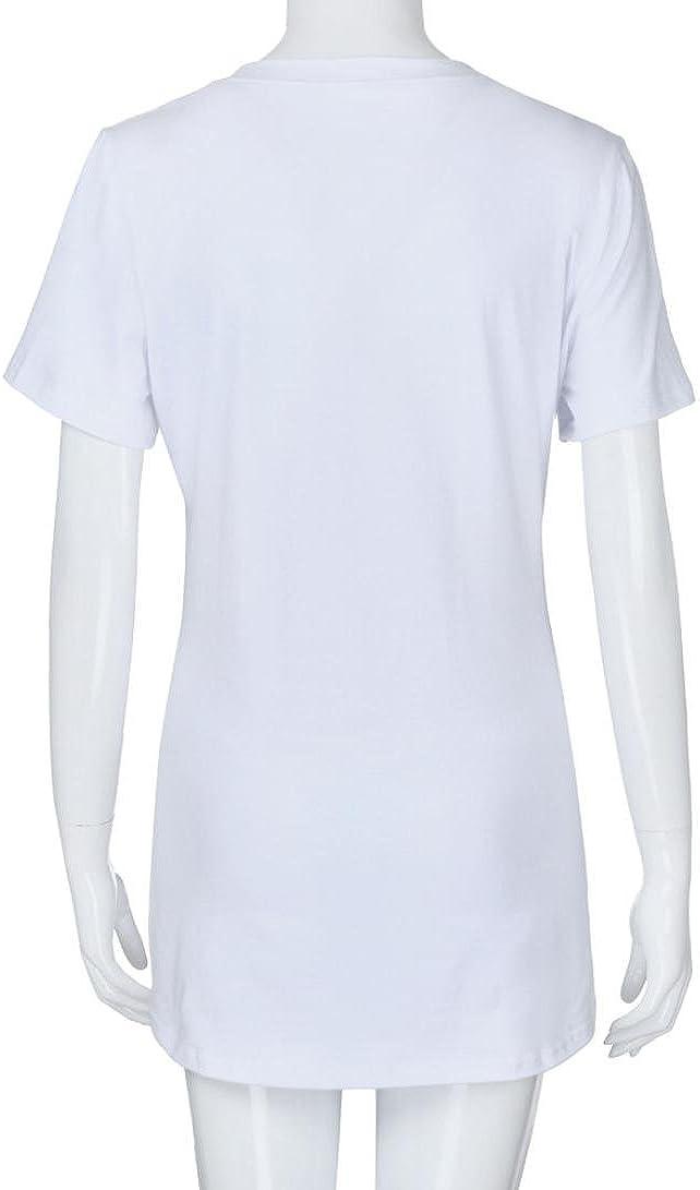 FAMILIZO Camisetas Mujer Verano Camisetas Mujer Manga Corta Maternidad Camiseta Premamá Manga Corta Camiseta Premamá Verano Camiseta Premamá Originales: Amazon.es: Ropa y accesorios