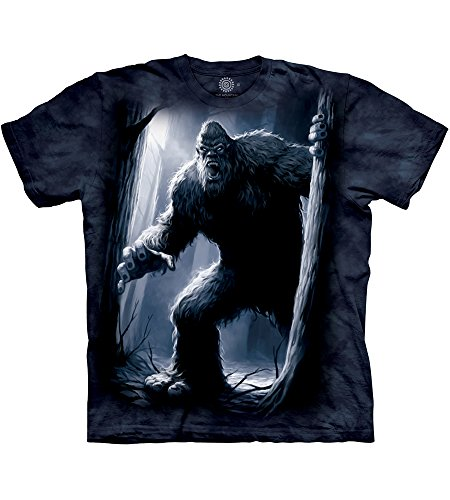 The Mountain Sasquatch Adult T-Shirt, Blue, 2XL