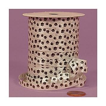 Amazon.com : Paw Print Curling Ribbon, 1/4