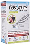 Nasopure Sinus Nasal Wash Refill Kit Buffered Neti Pot Salt Packets 40 Count