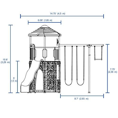 081483016405 - Lifetime Adventure Tower Playset carousel main 8