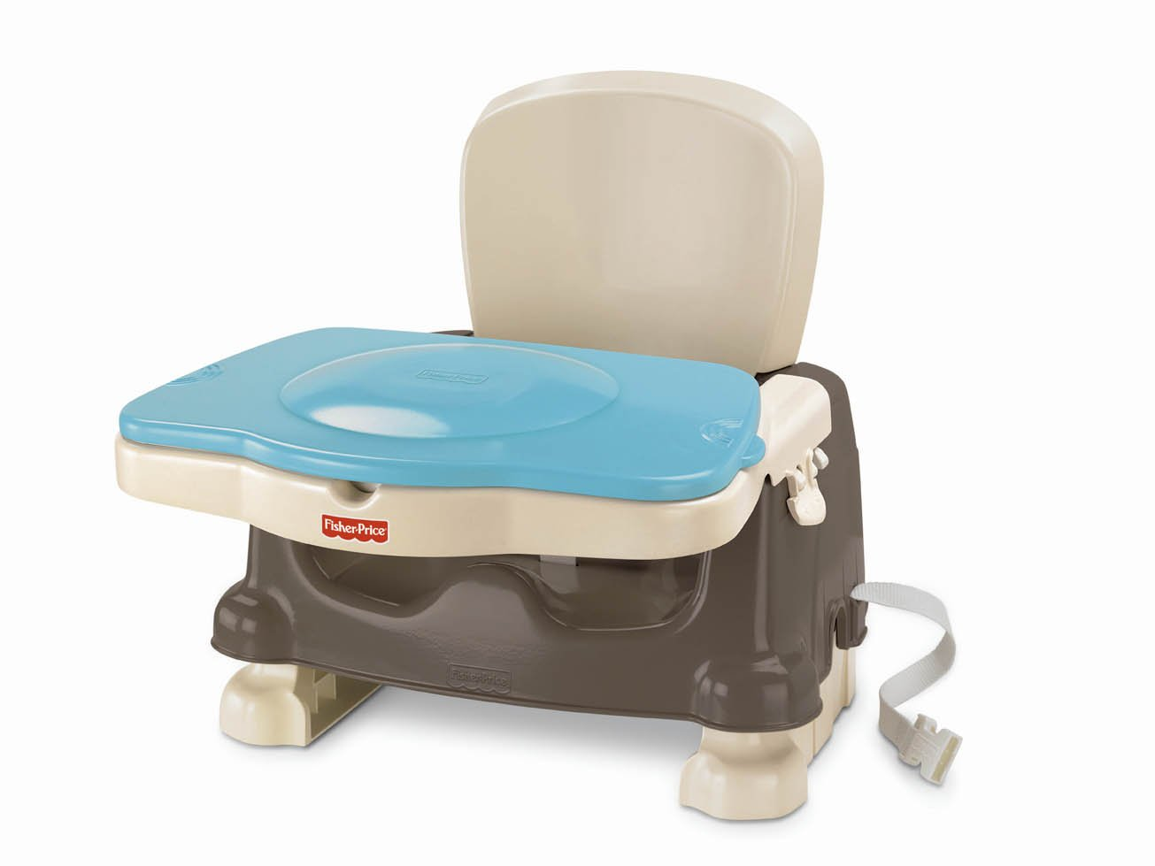 fisher price healthy care deluxe booster seat brown tan. Black Bedroom Furniture Sets. Home Design Ideas
