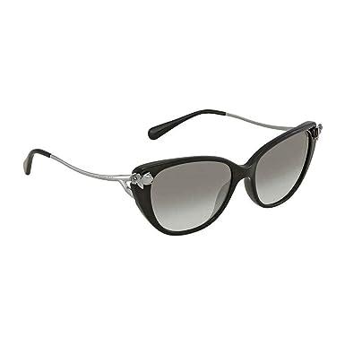 26f7f8e1e04f Coach Womens Sunglasses Black Green Acetate - Non-Polarized - 55mm