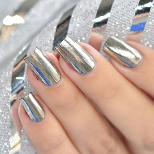 How To Use Chrome Nail Powder Without Gel: Chrome Powder For Mirror Nails In The UAE