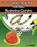 Cursive Handwriting Workbook for Kids: Beginning Cursive: more info