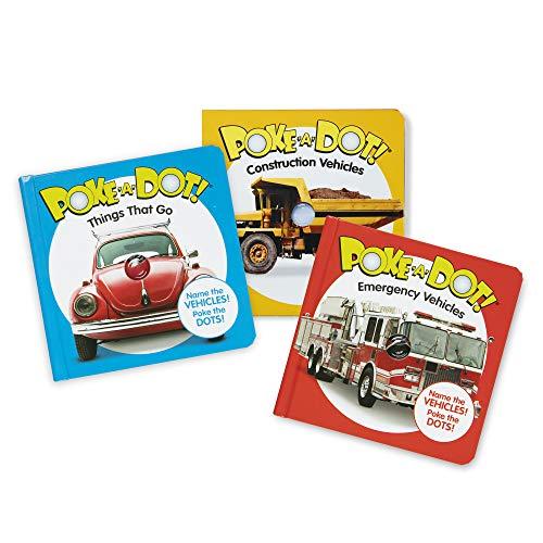 &DOUG 아동 도서 3 팩-POKE-A-DOT 차량 건설 구조
