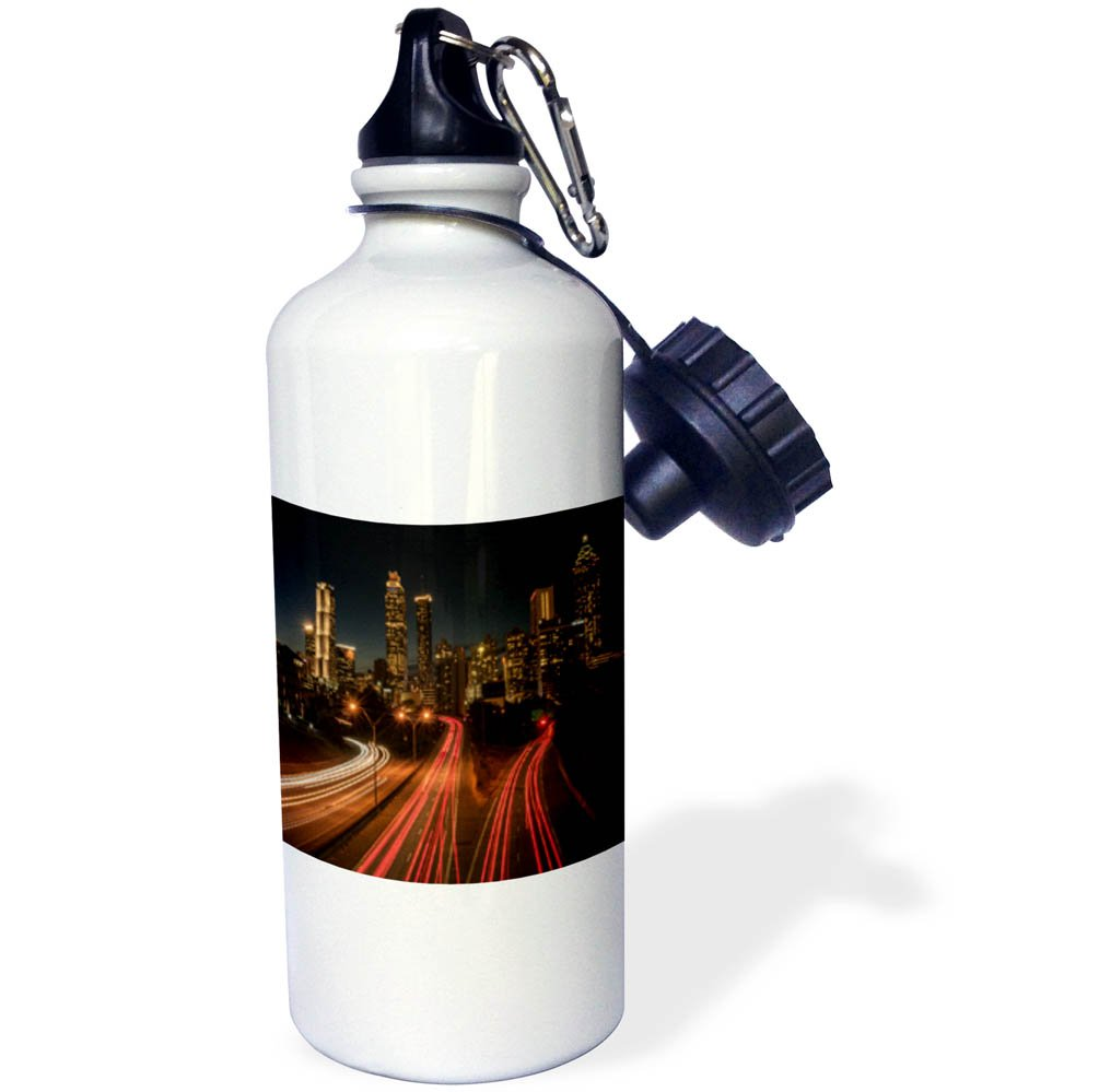 3dRose wb/_261801/_2 Funny Christmas Cool Yule Design Straw Water Bottle
