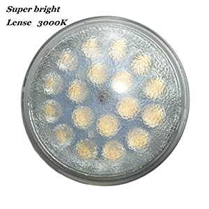 Vstar LED PAR36 12V 9W Warm White Lamp (Eq to 50W Halogen),900-1000LM,High Concentration,With Lense,Super Bright LED PAR36 Bulb