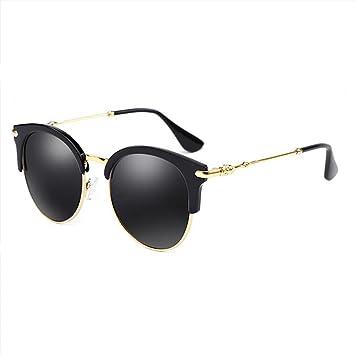 WLHW Gafas de sol femeninas polarizadas decorativas cara pequeña UVA UVB resina Europa Estados Unidos personalizada