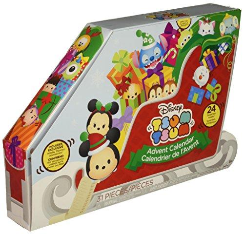 Holiday Advent Calendar - Tsum Tsum Disney Countdown to Christmas Advent Calendar Playset