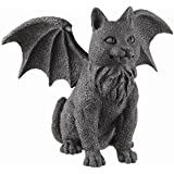 Winged Cat Gargoyle Statue Figurine Myth Fantasy
