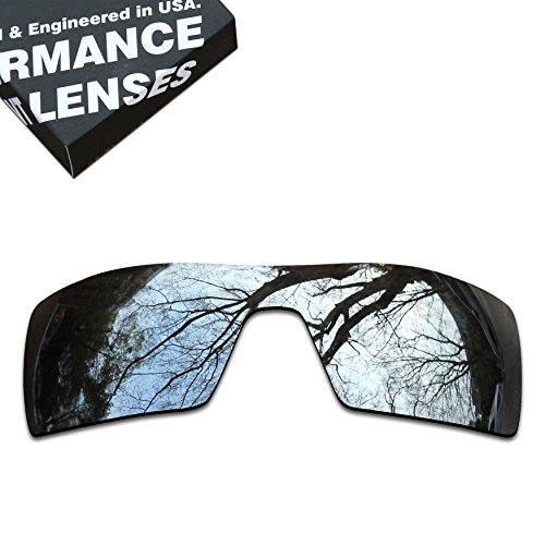 ToughAsNails Polarized Lens Replacement for Oakley Oil Rig Sunglass - More Options by ToughAsNails