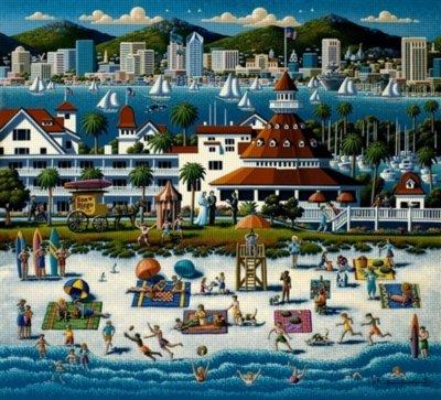 Dowdle Folk Art San Diego
