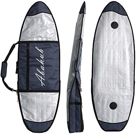 Abahub プレミアムサーフボードバッグ SUPカバー スタンドアップパドルボードキャリーバッグ アウトドア、旅行用 7