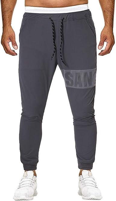 Pantalones Hombre Ocio Pantalon Moda Simple Pants Pantalones Largos Para Hombre Comodo Y Casual Pantalones Deportivos Para Trabajos Pantalon De Chandal Con Cordon Amazon Es Ropa Y Accesorios