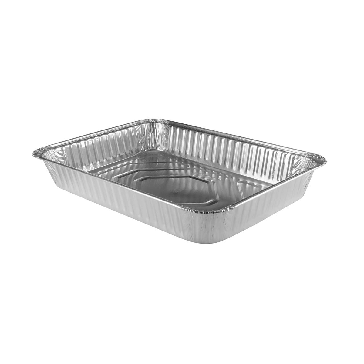 13 x 9 x 2'' Durable Disposable Aluminum all purpose pan. #4700NL (50)