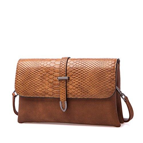 Small Shoulder Bags for Women Multi Pockets Flap Satchel Crossbody Bags PU Leather - Flap Pocket Shoulder Bag